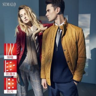 【ST.MALO】男女羊駝精品蓄暖格紋外套-1605MG/1649WJ(共14色)