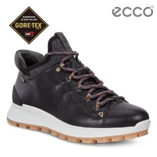 【ecco】EXOSTRIKE 突破極限低筒運動戶外靴 女(黑 83236351052)
