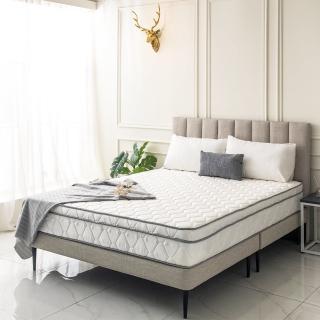 【obis】Julia三線3M防潑水蜂巢乳膠獨立筒床墊-雙人加大6尺(23cm)
