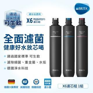 【德國BRITA】mypure pro X6 濾芯組