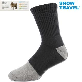 【SNOWTRAVEL】高級美麗諾羊毛襪AR-59(羊毛透氣材質)