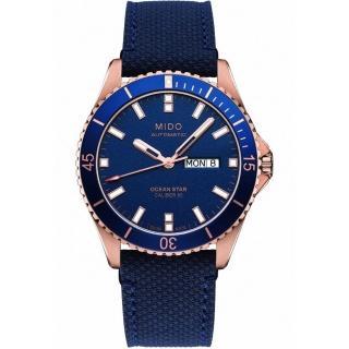 【MIDO 美度】MIDO 美度 Ocean Star 動力儲存80小時 200米潛水機械錶-M0264303604100(200米潛水機械錶)