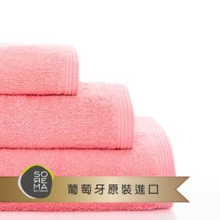 【Sorema 舒蕾馬】原色精緻毛巾 70x140cm 南歐陽光明星品牌(★粉莓 Blossom★)