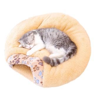 【愛寵達人】日韓熱銷新升級超柔軟寵物睡窩 貓窩 狗窩 保暖窩 寵物墊 寵物床(毛小孩必備加大款-多色可選)