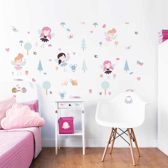 【英國Walltastic】英國Walltastic童趣壁貼-花仙子/