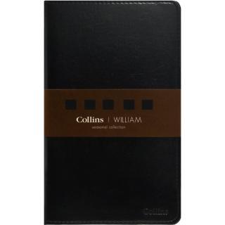 【Collins】Seasonal William系列-A5黑色 CS-2004(筆記本)
