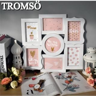 【TROMSO】甜心巴黎優雅白7框組(組合相框)