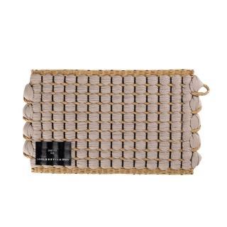 【北歐櫥窗】Hanna Korvela Duetto 芬蘭織森地毯(240cmx170cm、岩灰x原木)