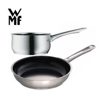 【德國WMF獨家超值組】Devil系列不沾煎鍋24cm+DIADEM PLUS系列單手鍋1.5L
