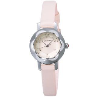 【JILL STUART】Ring LB系列名媛氣質時尚錶款(銀/白 JISILDB007)
