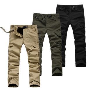【美國熊】寒流剋星 防風 保暖 騎車不透風 鋪棉內裡 冬季六袋款工作褲(KEER-03)