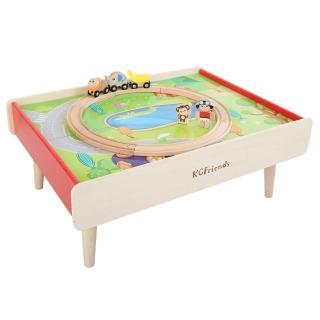 【KCFriends】奇幻遊戲桌(軌道車收納桌)