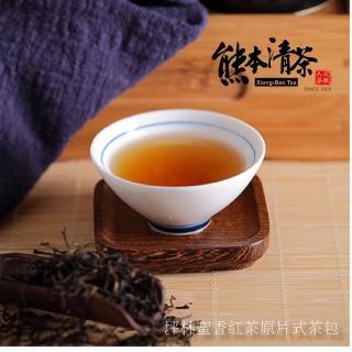 【熊本清茶】坪林傳統蜜香紅茶包30入(產地直銷)