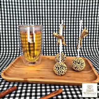 【英國 WILMAX】竹製長形餐盤/輕食盤(35.5x25.5CM)