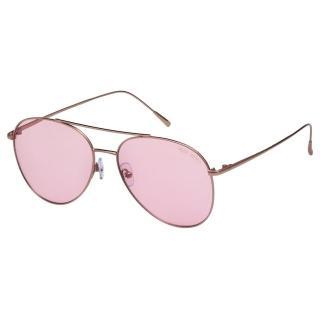 【VEDI VERO】飛官款 變色 太陽眼鏡VE880(玫瑰金色)