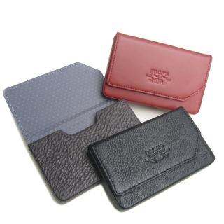 【leaper】PACAS真皮硬殼式名片盒 共3色(真皮名片盒)
