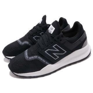 【NEW BALANCE】休閒鞋 MS247GTXD 襪套 運動 男女鞋 紐巴倫 輕量 舒適 GTX防水 情侶鞋 黑 灰(MS247GTXD)