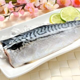 【鮮綠生活】當季野生挪威薄鹽鯖魚20片組(加碼再送5片 共25片)
