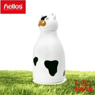 【helios 海利歐斯】乳牛造型保溫壺(1.0l)