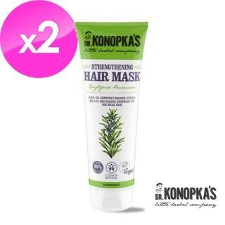 【DR.KONOPKAS 柯諾普卡醫生】經典花植絲蘊強韌潤髮膜x2(200ml*2)