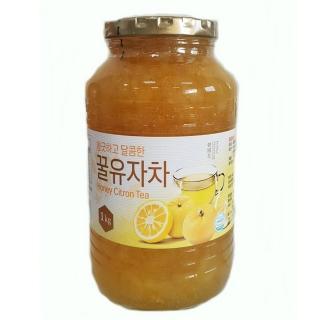 【韓國】蜂蜜柚子茶系列1kg(口味任選)