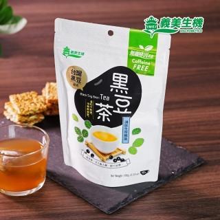 【義美生機】台灣黑豆茶100g(無咖啡因)