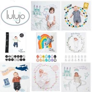 【熱銷補貨-lulujo】寶寶成長包巾卡片組(7款可選)