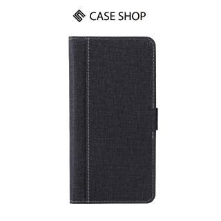 【CASE SHOP】CASE SHOP Xiaomi 小米8 Lite 專用前收納式側掀皮套-黑(側掀收納式)