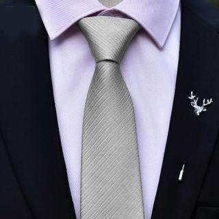 【拉福】領帶6cm中窄版領帶精工拉鍊領帶(多色 可選色)