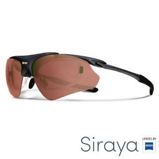 【Siraya】『專業運動』運動太陽眼鏡 紅色鏡片 德國蔡司 DELTA