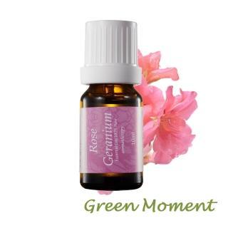 【Green Moment 自然奇機】單方純精油- 玫瑰天竺葵純精油 10ml