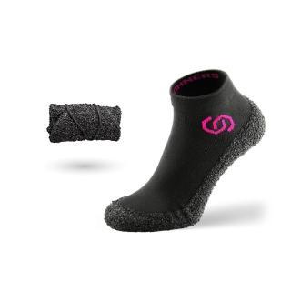 【Skinners】裸足感耐磨機能運動機能鞋襪-粉紅(運動/健身/瑜珈/健身房/登山/戶外/跑/襪/運動襪/鞋)