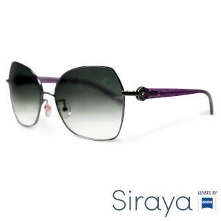 【Siraya】『百搭高雅』太陽眼鏡 金屬框 大框 德國蔡司 WALAY鏡框