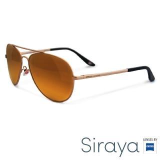 【Siraya】『經典入門』Siraya 太陽眼鏡 水銀鏡面 鈦金屬 德國蔡司 WATAWAT 鏡框