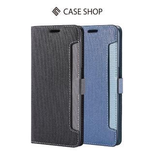 【CASE SHOP】OPPO R17 Pro 專用前收納式側掀皮套(側掀站立式)