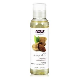 【NOW Solutions】甜杏仁油Sweet Almond Oil(4 oz / 118 ml)