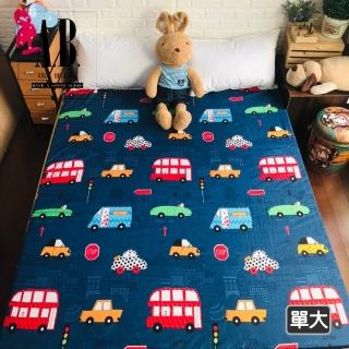 【AndyBedding】三摺式大青竹蓆床墊-單人加大3.5尺(三摺式竹蓆床墊)