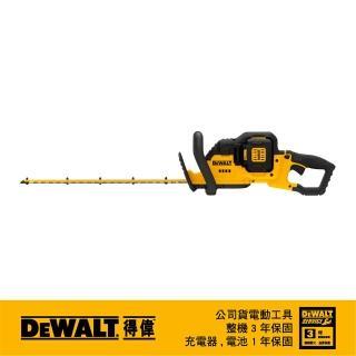【DEWALT 得偉】美國 得偉 DEWALT 40V MAX XR鋰電 22英吋籬笆剪 DCHT860M1(DCHT860M1)