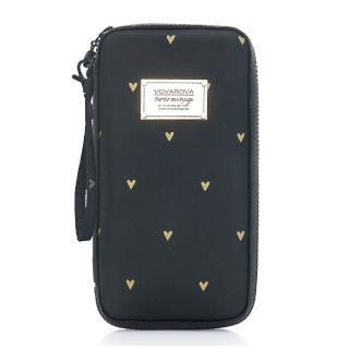 【VOVAROVA】環遊世界護照夾 心空閃耀-黑(空氣包)