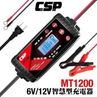 【CSP進煌】多功能智慧型電瓶電池12V汽車.機車充電器&檢測器(3A.8A~原MT900升級版)