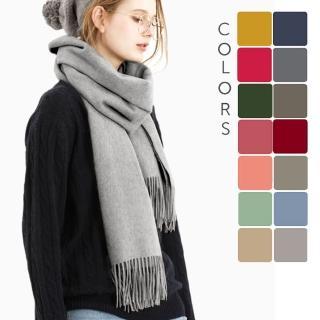 【5TH AVE】厚款羊毛圍巾(快速到貨)