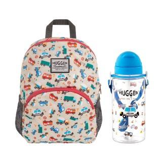 【英國HUGGER】幼童背包+吸管水壺組合(多款任搭)