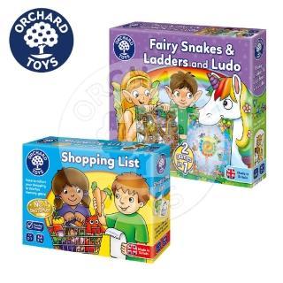 【Orchard Toys】幼兒桌遊-經典桌遊收藏組(配對與策略桌遊)