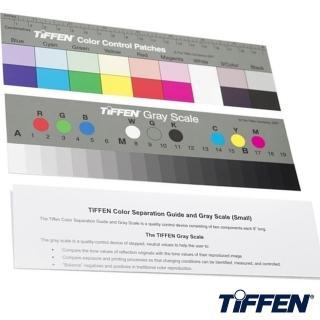 【美國TIFFEN天芬】專業色階校色卡+標準灰卡Q-13(2張入校色版適商業攝影 標準色階 標準灰階)