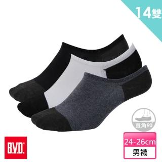 【BVD】雙效抗菌除臭低口男襪12雙組+送男女適用除臭襪*2雙(B396襪子)