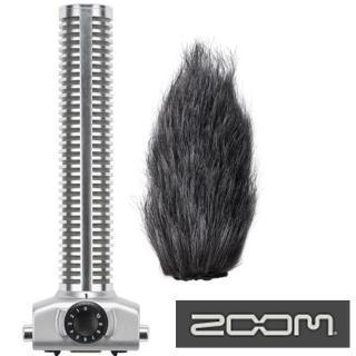 【ZOOM】槍型麥克風含毛防風罩SGH-6(適H5 H6 Q8錄音麥克風)