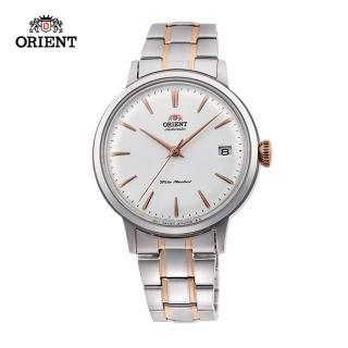 【ORIENT 東方錶】ORIENT 東方錶 DATEⅡ系列 機械錶 鋼帶款 玫瑰金色 - 36.4mm(RA-AC0008S)