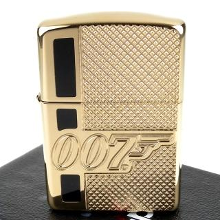 【Zippo】美系~James Bond 007-詹姆士龐德圖案深刻(ARMOR裝甲)