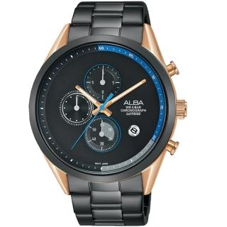 【ALBA】Tokyo Design潮流限量款腕錶-黑/44mm(VD57-X135KS /AM3594X1)