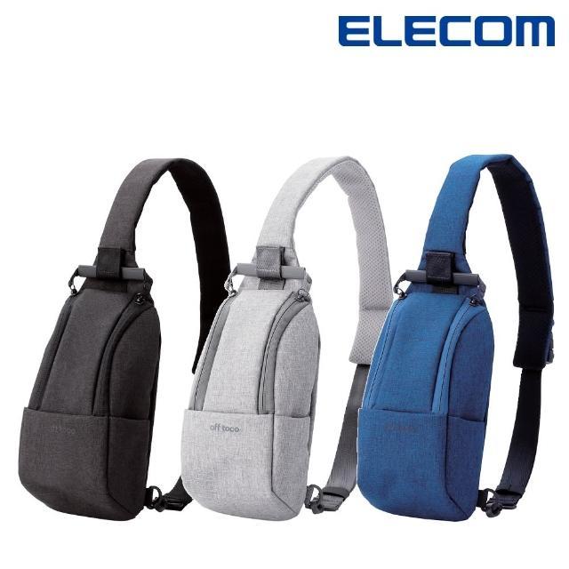 【ELECOM】帆布兩用輕便斜背包